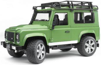 Land Rover Defender Station Wagon (Gioco Bruder) (Toy)