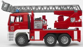 Autopompa Pompieri con Luci e Suoni (Gioco Bruder) (Toy)