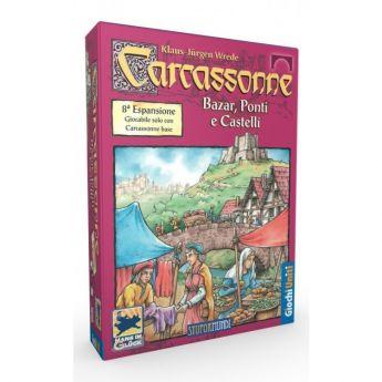 Carcassonne Bazar, Ponti e Castelli Espansione 8 Giochi Uniti