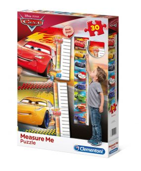 Puzzle Bambini 30 Pezzi Cars Measure Me Clementoni su ARSLUDICA.com