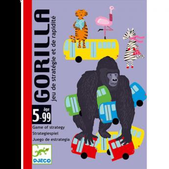 Gorilla Gioco di Carte Djeco su ARSLUDICA.com