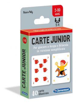 Carte Junior Clementoni su ARSLUDICA.com