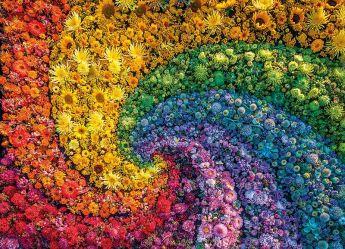 Puzzle 1000 Pezzi Clementoni Whirl Color Boom Collection | Puzzle Composizioni