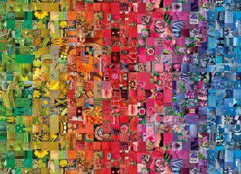 Puzzle 1000 Pezzi Clementoni Collage Color Boom Collection | Puzzle Composizioni