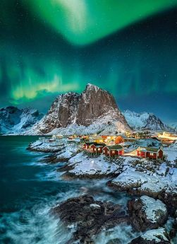 Puzzle 1000 Pezzi Clementoni Lofoten Islands | Puzzle Paesaggi