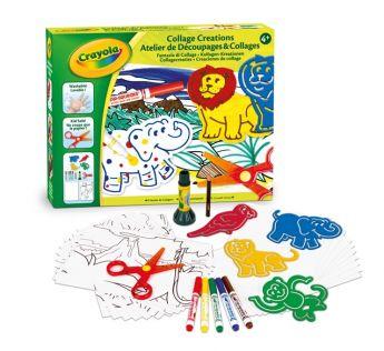 Creazioni Collage Fantasia Crayola su ARSLUDICA.com