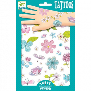 Fair flowers of the field (Tattoo Djeco Design By)
