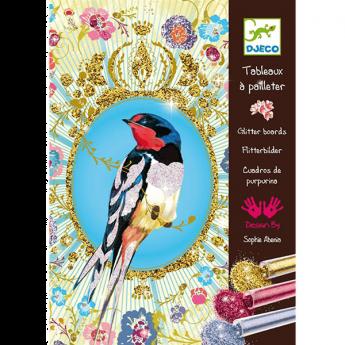 Glitter birds(Gioco Djeco Design By)