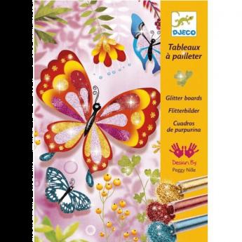 Glitter Butterflies (Gioco Djeco Design By)