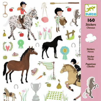 Horses (Stickers Djeco Design By)