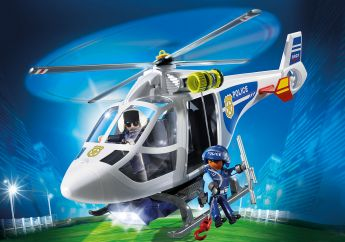 Elicottero della Polizia Playmobil City Action 6921 su ARSLUDICA.com