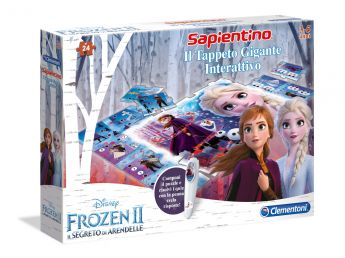 Frozen 2 Tappeto Gigante Interattivo Clementoni su ARSLUDICA.com