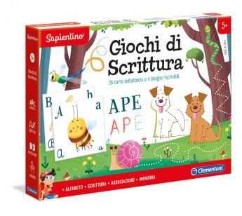 Giochi di Scrittura Sapientino Clementoni su ARSLUDICA.com