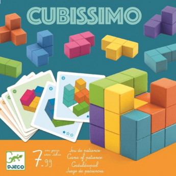 Gioco da Tavolo Cubissimo DJECO su ARSLUDICA.com