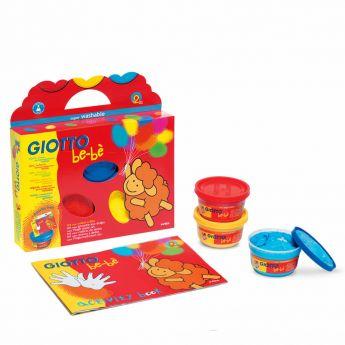 Giotto Bebè Set Colori a Dita su ARSLUDICA.com
