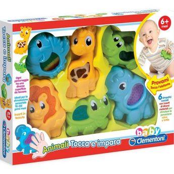 Animali Tocca e Impara (Gioco Clementoni Baby)