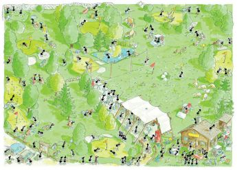 Golf (Puzzle 1080 Pezzi Formiche) (Puzzle)