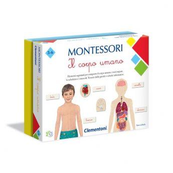 Il Corpo Umano Montessori Clementoni