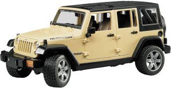 Jeep Wrangler Unlimited Rubicon (Gioco Bruder) (Toy)