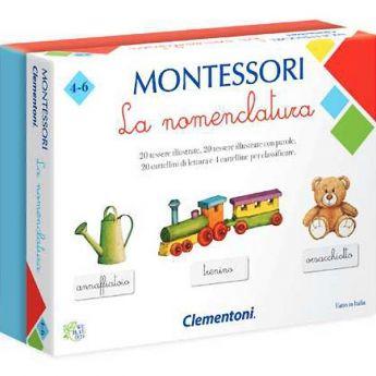 La Nomenclatura - Montessori (Gioco Educativo Clementoni)