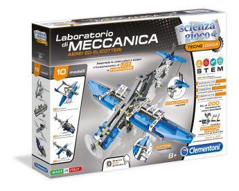 Laboratorio di Meccanica Aerei e Elicotteri Clementoni su ARSLUDICA.com