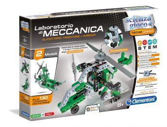 Laboratorio di Meccanica Trirotore + Airboat Clementoni su ARSLUDICA.com