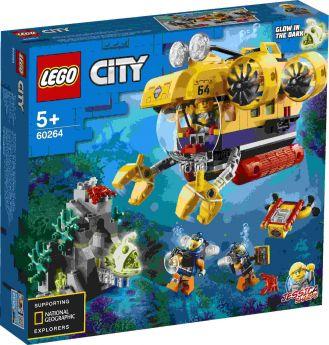 LEGO 60264 Sottomarino da Esplorazione Oceanica su ARSLUDICA.com