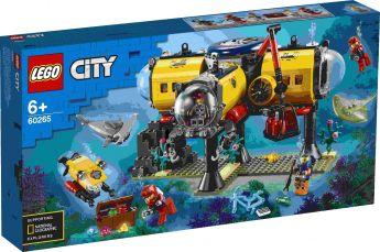 LEGO 60265 Base per Esplorazioni Oceaniche su ARSLUDICA.com