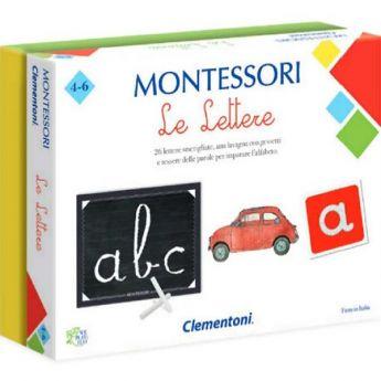 Le Lettere - Montessori (Gioco Educativo Clementoni)