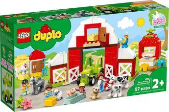 LEGO 10952 Fattoria con Fienile, Trattore e Animaletti | LEGO Duplo