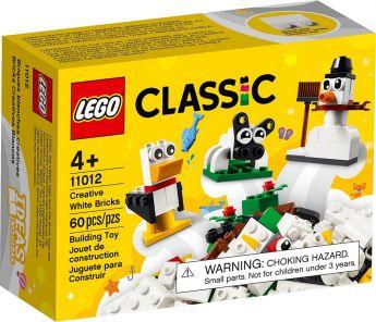 LEGO 11012 Mattoncini Bianchi Creativi | LEGO Classic