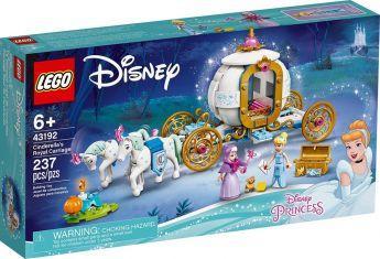 LEGO 43192 La Carrozza Reale di Cenerentola   LEGO Disney Princess