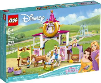 LEGO 43195 Le Scuderie Reali di Belle e Rapunzel   LEGO Disney