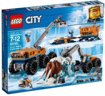 LEGO 60195 Base Mobile Di Esplorazione Artica | LEGO City