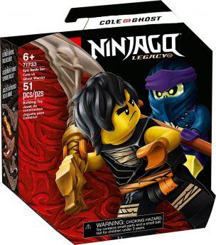 LEGO 71733 Battaglia Epica - Cole Vs Guerriero Fantasma   LEGO Ninjago
