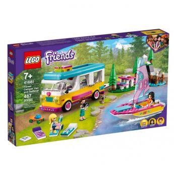 LEGO 41681 Camper Van nella Foresta e Barca a Vela   LEGO Friends