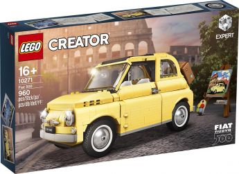 LEGO 10271 Fiat 500 LEGO Creator Expert su ARSLUDICA.com