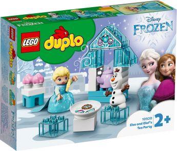 LEGO 10920 Il Tea Party di Elsa e Olaf LEGO Duplo su ARSLUDICA.com