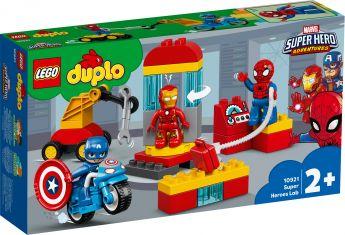 LEGO 10921 Il Laboratorio dei Supereroi LEGO Duplo su ARSLUDICA.com