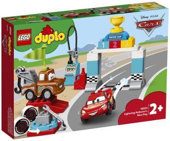 LEGO 10924 Il giorno della gara di Saetta McQueen LEGO Duplo su ARSLUDICA.com