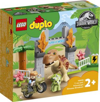 LEGO 10939 Fuga del T.rex e del Triceratopo | LEGO Duplo
