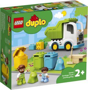 LEGO 10945 Camion della Spazzatura e Riciclaggio   LEGO Duplo