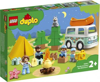 LEGO 10946 Avventura in Famiglia sul Camper Van | LEGO Duplo