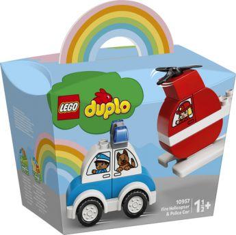LEGO 10957 Elicottero antincendio e Auto della polizia | LEGO DUPLO