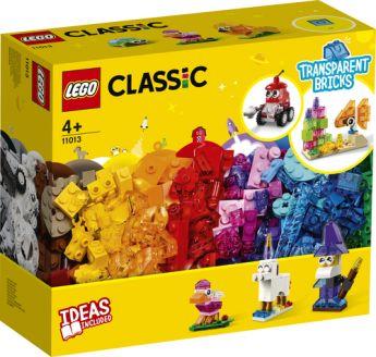 LEGO 11013 Mattoncini trasparenti creativi | LEGO Classic
