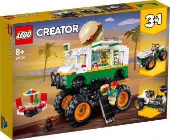 LEGO 31104 Monster Truck degli Hamburger LEGO Creator su ARSLUDICA.com