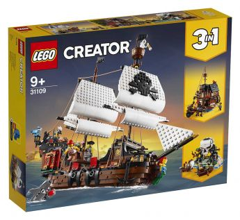 LEGO 31109 Galeone dei pirati LEGO Creator su ARSLUDICA.com