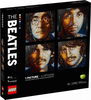 LEGO 31198 The Beatles LEGO Mosaics su arsludica.com