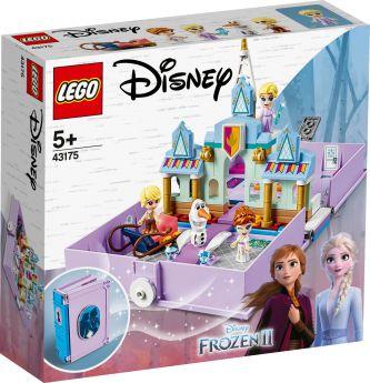 LEGO 43175 Il Libro delle Fiabe di Anna ed Elsa LEGO Disney Princess su ARSLUDICA.com
