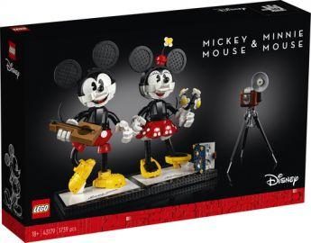 LEGO 43179 Personaggi costruibili di Topolino e Minnie   LEGO Disney